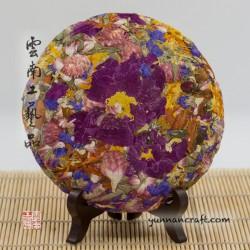 Iris cake - seven flowers