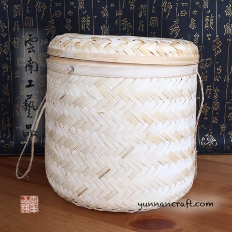 Bamboo basketa