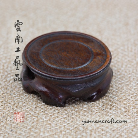 Teapot stand black- small
