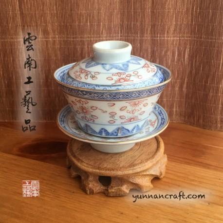 160ml Gaiwan - Qing Hua