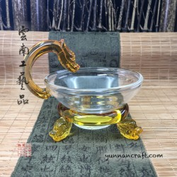 Strainer - glass Dragon