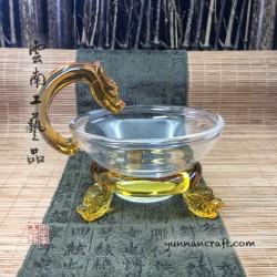 Strainer - glass Dragon