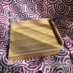Bamboo Square Tray For Tea