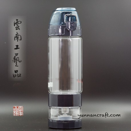 Glass Tea Bottle 2