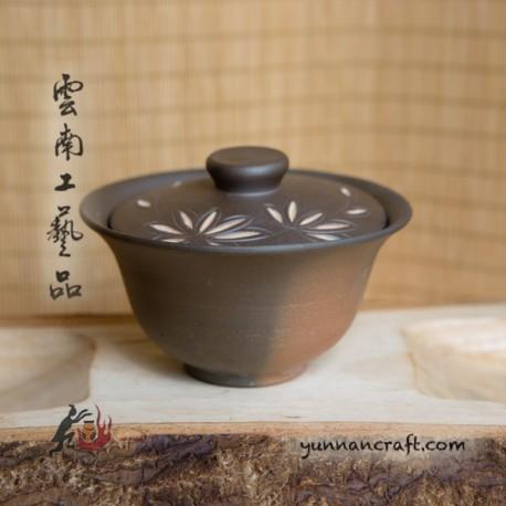 175ml Dai Tao Gaiwan- Bamboo leafs