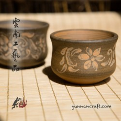 110ml Dai Tao Cups (Flowers) - 2pc.