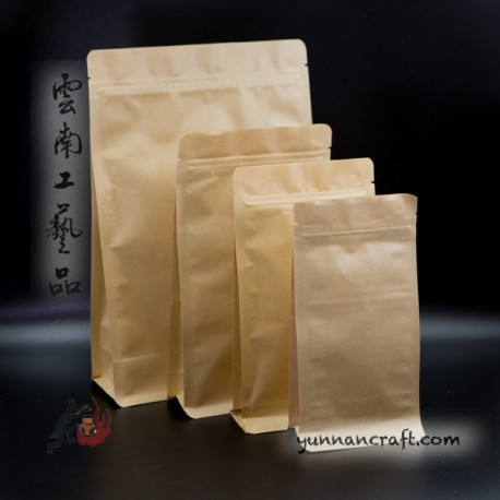 3D Tea Zip Bag - 10pc