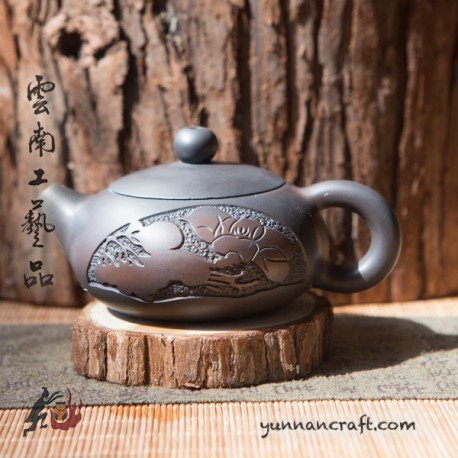 Zitao Teapot - Bian Xi Shi 130ml