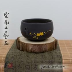 Чашка Цзы Тао Желтые Цветки - 70мл