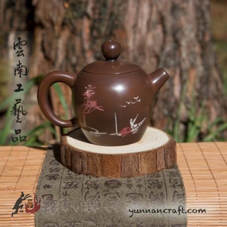 Цзы Тао чайник - Мэй Жен Тянь (Рыбак) 90мл