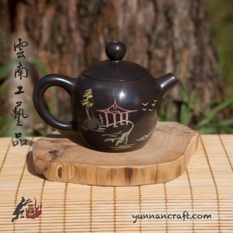 Цзы Тао чайник - Мэй Жен Тянь (Пагода) 95мл