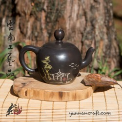 Цзы Тао чайник - Пагода и Дерево - 90мл
