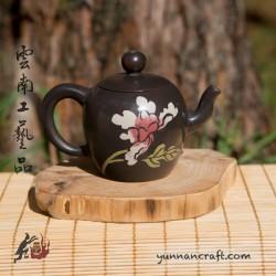 Цзы Тао чайник - Цветок (Зен) - 95мл
