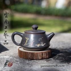 Цзы Тао чайник - Шы Пяо ( Рыбак ) - 100мл
