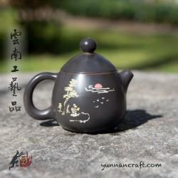 Цзы Тао чайник - Яйцо Дракона ( Гуи Джэн ) - 115мл