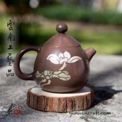 Zitao Teapot - Dragon's Egg ( Qing Xin ) - 130ml