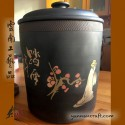 Jianshui Pottery - tea storage 8,3l