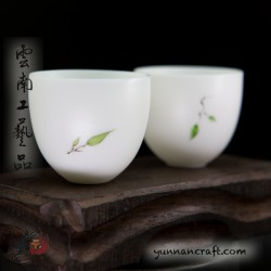 30ml De Hua Porcelain Cups - 2pc.