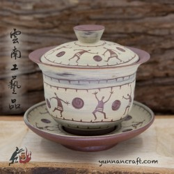 150ml Dai Tao Gaiwan - People