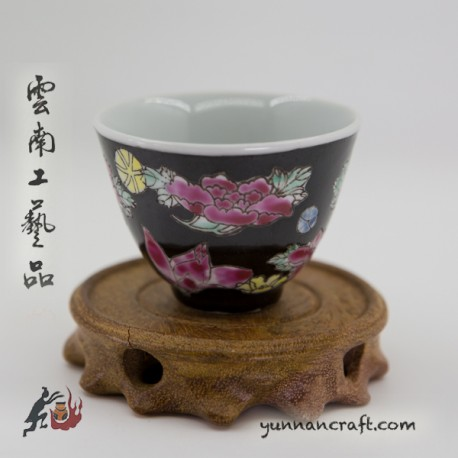 80ml cup - flowers