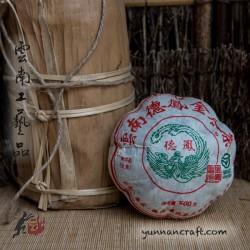 2008 De Feng Melon Tuo Cha - 500g