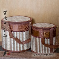 Foldable Bamboo basket