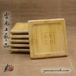 Бамбуковая тарелочка
