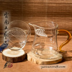 280ml Grandpa Style Glass Pitcher