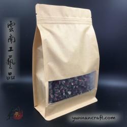3D Tea Zip Bag with Screen - 10pc