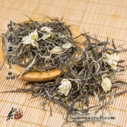 Жасминовый зеленый чай