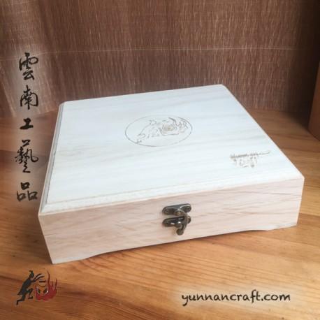Wooden Puerh Tea Box