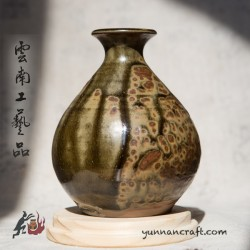 380ml Dai Tao Vase ( ash glazed )