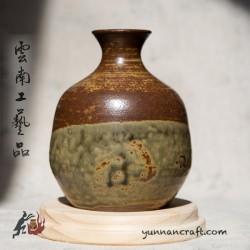 240мл Дай Тао Ваза ( золь.глазурь )