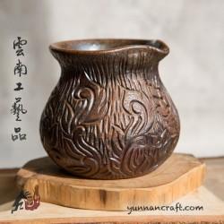 200мл Дай Тао Кувшин ( обжиг на дровах ) - Листок