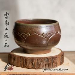 95мл Дай Тао Чашка ( обжиг на дровах ) - Лотос