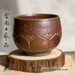 105мл Дай Тао Чашка ( обжиг на дровах ) - Лотос