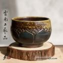 95мл Дай Тао Чашка ( обжиг на дровах & золь. ) - Лотос