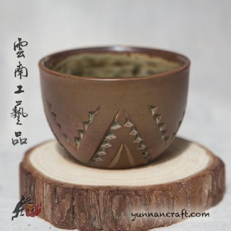 60мл Дай Тао Чашка ( золь.глазурь )