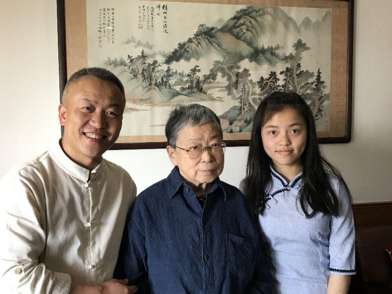Teacher and daughter